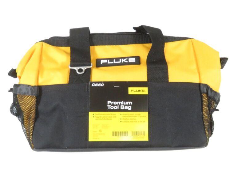 Fluke C550 Premium Tool Bag - Steel Bar Reinforced Frame, Weather Resistant