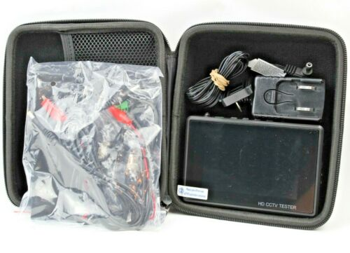 "4"" HD IP CCTV Tester Monitor H.265 4K CVI TVI AHD Tester WIFI 8MP 5MP POE 12V"