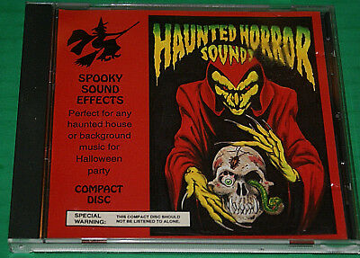 Haunted Horror Sounds Cd Perfect Spooky Sound Effects For Halloween Party - Horror Sounds For Halloween