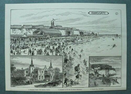 L1e%29+Holzstich+Ramsgate+1885+Bahnhof+Sir+Moses+Monteflore+Pegwell+Bay+H%C3%A4user+%2B%2B%2B