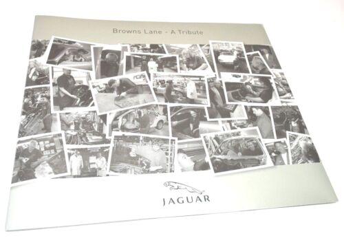 RARE Jaguar Cars BROWNS LANE - A TRIBUTE Portfolio w/ Painting + DVD 1952-2005
