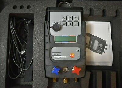 Testo 523 Digital Refrigeration Manifold System Analyzer