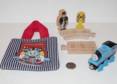 Thomas & Friends Railway Tank Engine Mini Tote Bag Gift Set - Train, Track, More (Thomas The Train Gift Bags)