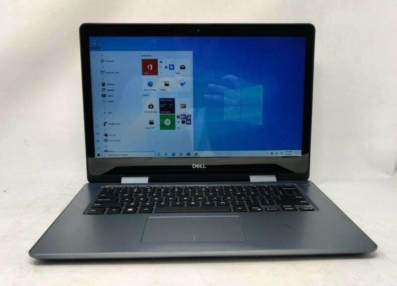 "Dell Inspiron 5481 2-in-1 Touchscreen 14"" Laptop Intel i3 8GB RAM 256GB Webcam"