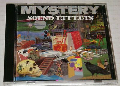 Creepy Halloween Sound Effects (Mystery Suond Effects CD 50 Creepy Weird Sounds Hallopween Scary)