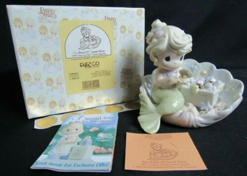 """Precious Moments 526061 """"The Pearl Of Great Price""""  MIB WP51"""