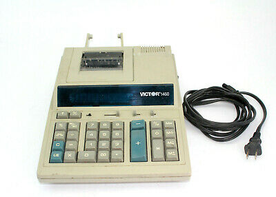 Victor Technology 1460 Multi-Function Business Calculator 115V 60HZ Used