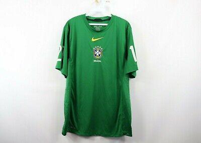 Dri-fit-training Jersey (Nike Herren L Dri-Fit Training 2010 Weltmeisterschaft Brasilien Soccer Jersey)