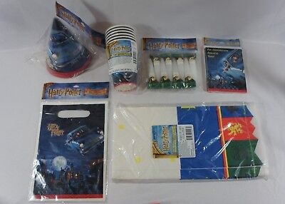 Harry Potter Birthday Party Decoration Supplies Hats Cups Table Cover Blowouts