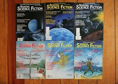 Aboriginal SF Science Fiction Vintage Magazine 1990 Vol 4 Run 19 20 21 22 23 24