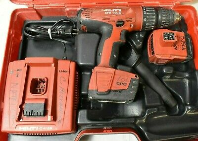 Hilti Cordless Hammer Drill Model Sfh 144-a