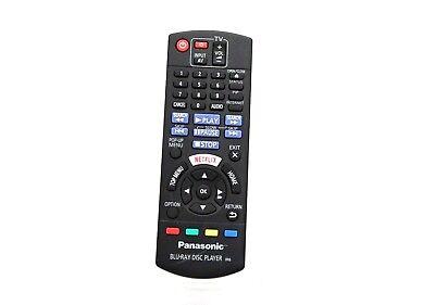 Genuine Panasonic Blue-RAY DISC Player Remote Control N2QAYB000719