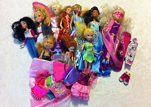 3 Barbies and other dolls Kingsley Joondalup Area Preview
