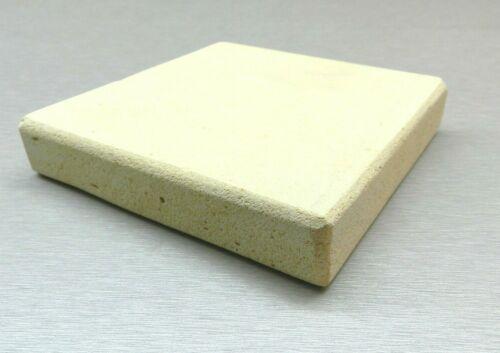 "Ceramic Board Jewelry Work Soldering Block Heat Plate Bench 5""x5""x1"" Square Tile"