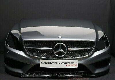 Mercedes W218 CLS MOPF Front AMG LINE Stoßstange MOTORHAUBE Kotflügel GRAU