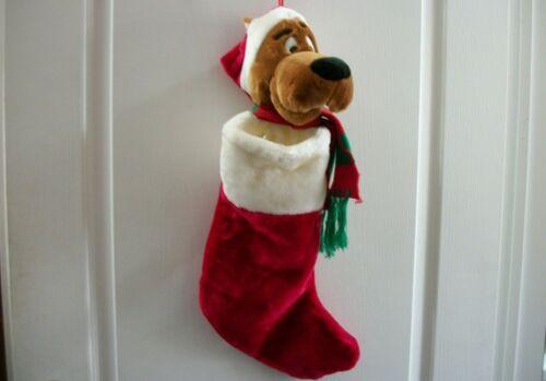 "22"" Vintage 1997 SCOOBY DOO Plush CHRISTMAS Stocking Warner Bros. Studio Store"