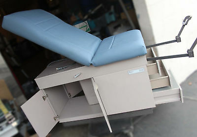 Midmark Ritter 108k Manual Medical Examination Operation Patient Table