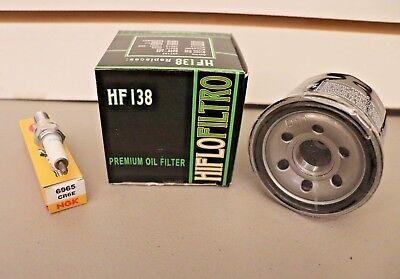 A750x King Quad (Suzuki King Quad 700 750 Tune Up Kit NGK Spark Plug Oil Filter LT-A750X LT-A700X )