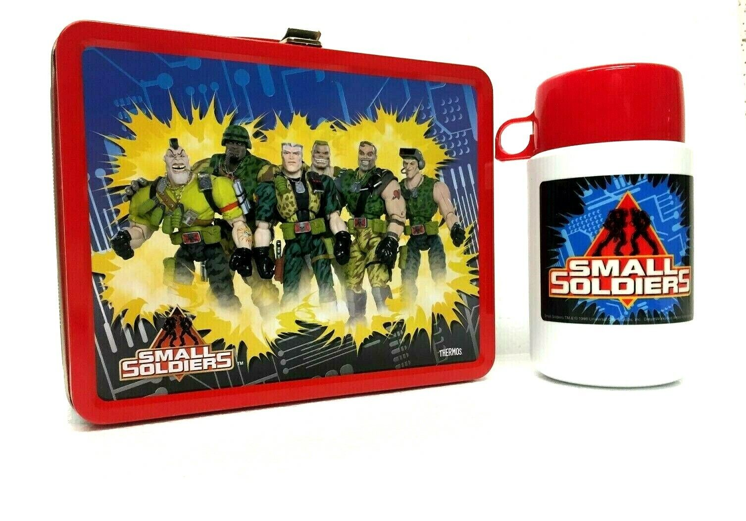 brand small soldiers metal lunch box