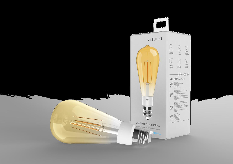 YEELIGHT Lampadina Led Filamento Smart WiFi ST64 6W 500lm 2700K YLDP23YL