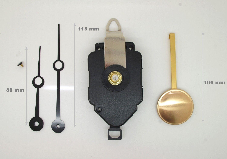 m canisme de pendule horloge quartz balancier. Black Bedroom Furniture Sets. Home Design Ideas