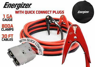 ENB130 - Open Box - Energizer 1 Gauge 30' Kit - Jumper Cables with Quick Connect