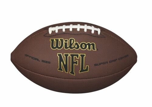 Wilson NFL Super Grip Official Full Size Football