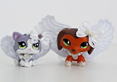 LPS ❤️ Accessories ❤️ Angel Outfit Costume Wings Halloween For Littlest Pet Shop - Angel Costumes For Halloween For Kids