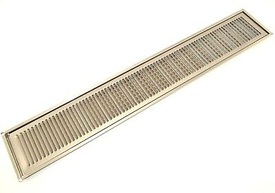 36 Flush Mount Stainless Steel Drip Tray No Drain Model Fdt-5536-nd Ic Gr-553
