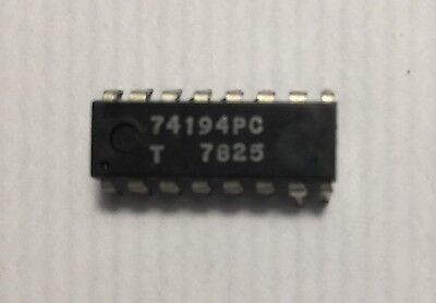 74194 Ttl Ic - 4-bit Bidirectional Shift Register - Dip-16