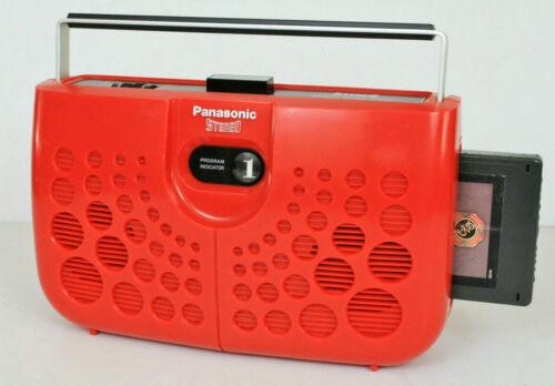 Panasonic RS-833S Swiss Cheese 8 Track Tape Player. Japan REFURBISHED Warranty