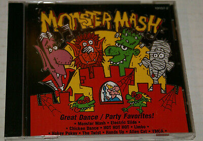 Monster's Halloween Dance Music (Monster Mash Halloween Great Dance Party Favorites CD 1997 10 Scary Fun Songs!!)