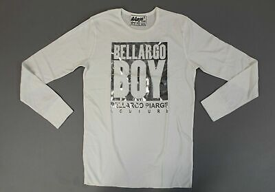 Bellargo Piarge Mens Bellargo Boy Metallic Thermal Shirt SI4 White/Silver Medium
