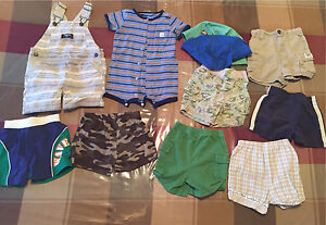 Baby boys 12 month summer Lot # 2