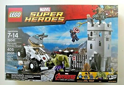 LEGO Marvel Super Heroes The Hydra Fortress Smash 76041 NEW