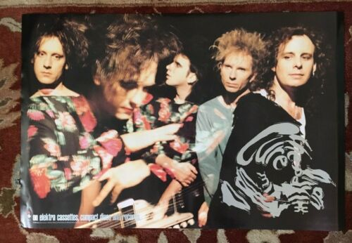 """THE CURE  All Mixed Up  rare original promotional poster  20""""x30"""""""