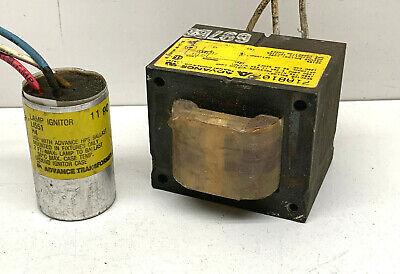 Advance 71a8107 Reactor Ballast For 150w S55 High Pressure Sodium Lamp
