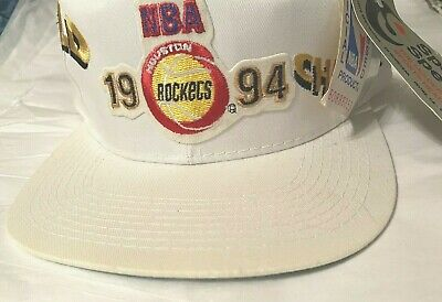 Vintage 1994 NBA World Champions Houston Rockets Sports Specialties Snapback Hat