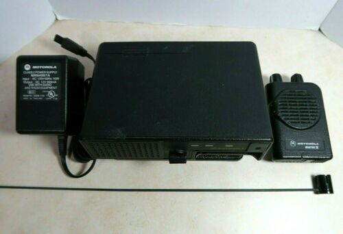 Motorola Minitor IV VHF Pager SV 151-158.9 MHz with Amplified Charger & Antenna