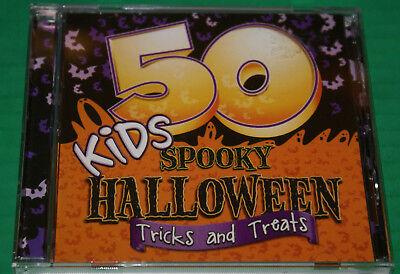 Unknown Artist : 50 Kids Spooky Halloween Tricks and Treat Cd Weird Fun - Spooky Fun Halloween Music