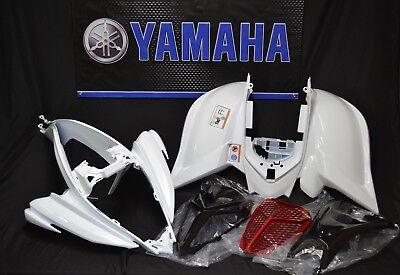 Raptor 700 plastics GENUINE YAMAHA fenders COMPLETE set 2006-2020 WHITE & BLACK