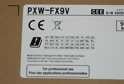 Sony PXW FX 9 V  * NEUHEIT *  vom Sony Fachhändler mit Prime Support europaweit online kaufen