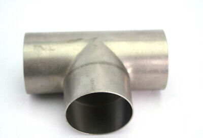 3 316 Stainless Steel Duct Tee New