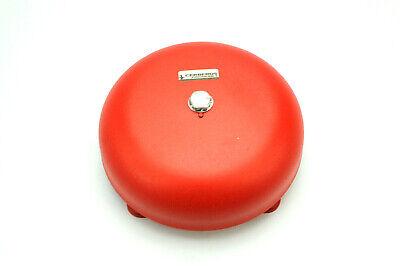 Cerberus Protronics Bdc-6 6 Red Fire Alarm Bell New