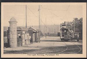 Hampshire Postcard - The Light Railway, Portsdown Hill, Nr Portsmouth R529