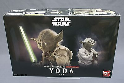 Star Wars Yoda 1/6 Model kit Bandai Japan NEW (IN STOCK) ***
