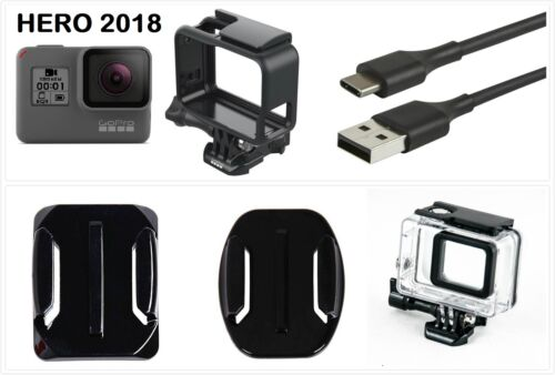 New GoPro HERO 2018 Waterproof Action HD Camera Touch Screen Camcorder w/ Frame
