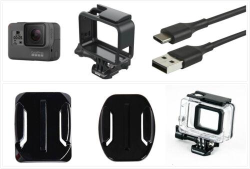 New GoPro HERO 5 Black Waterproof Action 4K Ultra HD Camera Touch Screen Frame