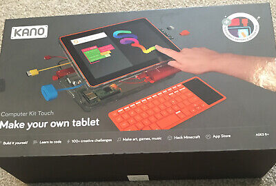 NEW Kano 1010-02 Computer Kit Touch Make Your Own Tablet for Kids 6 and Up