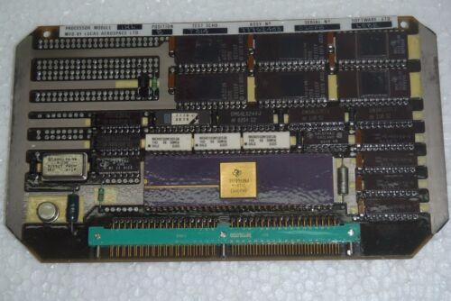 Lucas Aerospace 77762403 Processor Module Irl 77761142-1 Software Lo8b